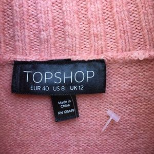 Topshop Sweaters - NWT Topshop Turtleneck Sweater Rose